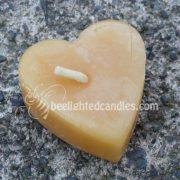 Individual Naked Heart Tealight