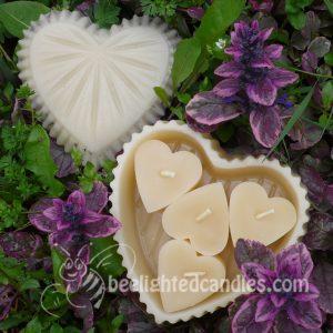 Lavender Treasure Heart Box