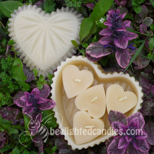 Lavender Treasure Heart Box