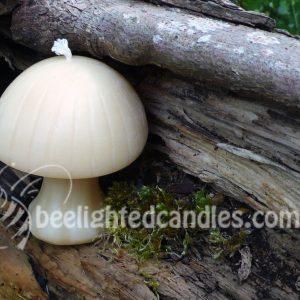 Beeswax Mushroom Candle